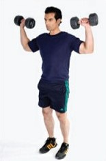 Home Workout - Dumbbell Routine- mens fitness -12