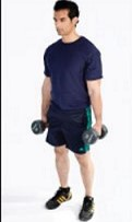 Home Workout - Dumbbell Routine- mens fitness -061