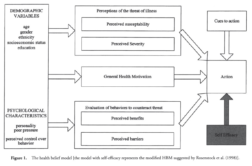 Health Belief Model Health Psychology Lifestyle