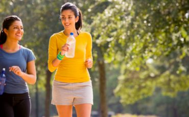 Safety Considerations and Etiquette in Fitness Walking