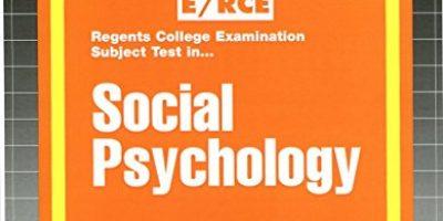 Social Psychology (Excelsior/Regents College Examination Series) (Passbooks)