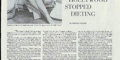 Mamie Van Doren in Girls Town for Ayds Diet Candy Campana ad 1959